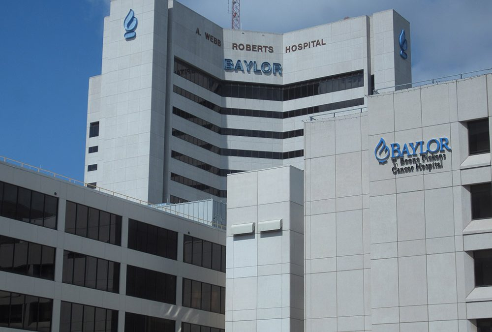 Visita a Baylor Medical Center e Dr. Wolford´s Office