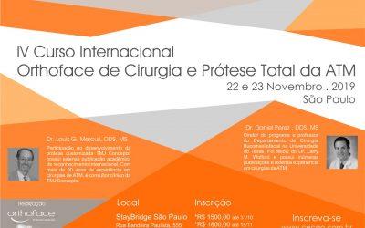 Curso Internacional Orthoface de Cirurgia e Prótese Total de ATM